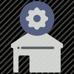 automation, home, remote, setup icon