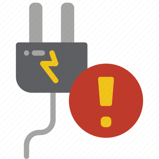alert, automation, electricity, home, meter, power icon