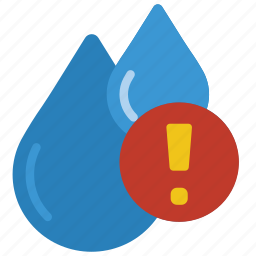alert, automation, home, meter, water icon