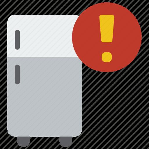 alert, automation, freezer, home, utility icon
