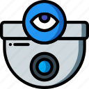 automation, camera, cctv, home, security, ultra, view icon