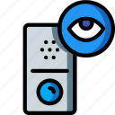 automation, doorbell, home, ultra, view icon