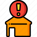 alert, automation, home, ultra icon