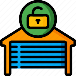 automation, garage, home, ultra, unlocked icon