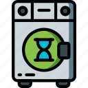 automation, busy, home, kitchen, machine, ultra, washing icon
