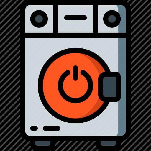 automation, home, kitchen, machine, off, ultra, washing icon