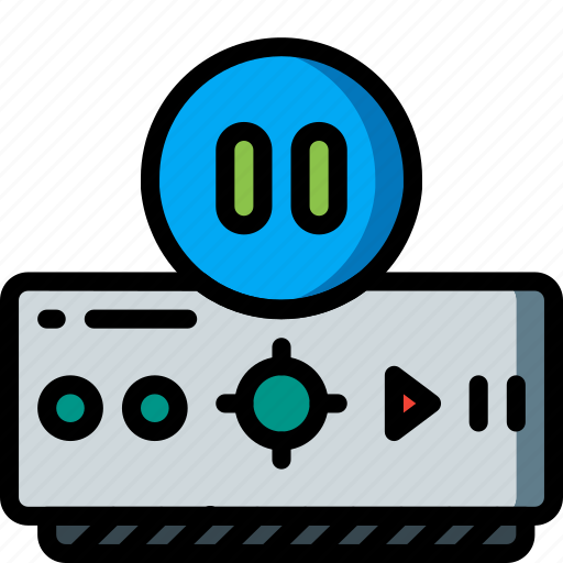 automation, dvr, home, pause, recorder, tv, ultra icon