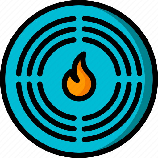 alarm, automation, fire, home, sensor, ultra icon