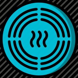 alarm, automation, home, sensor, smoke, ultra icon