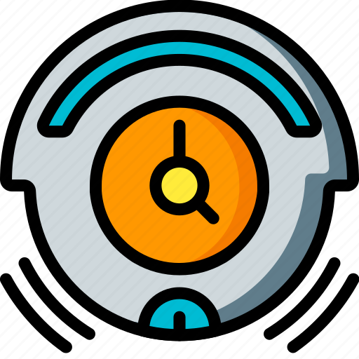 automation, home, roomba, timer, ultra, vacuum icon