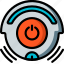 automation, home, off, roomba, ultra, vacuum icon