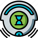 automation, busy, home, roomba, ultra, vacuum icon