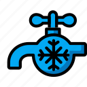 automation, cold, home, tap, ultra, water icon
