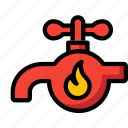 tap, automation, water, hot, home, ultra icon