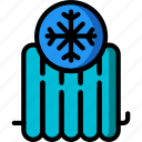 automation, cold, heating, home, radiator, ultra icon