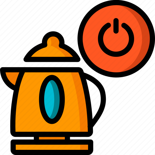 automation, home, kettle, kitchen, off, ultra icon