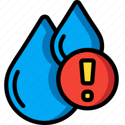 alert, automation, home, meter, ultra, water icon
