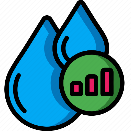 automation, home, liquids, meter, stats, ultra, water icon