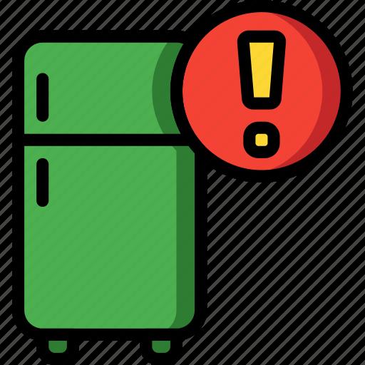 alert, automation, freezer, fridge, home, kitchen, ultra icon