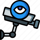 automation, cameras, cctv, home, ultra, view icon