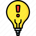 alert, automation, home, lighbulb, ultra icon