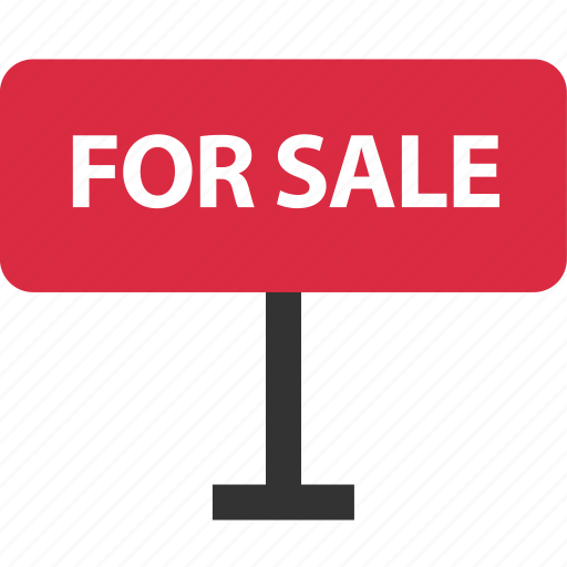 buying, estate, for, home, real, sale, sign icon