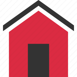 buying, door, estate, home, house, real icon