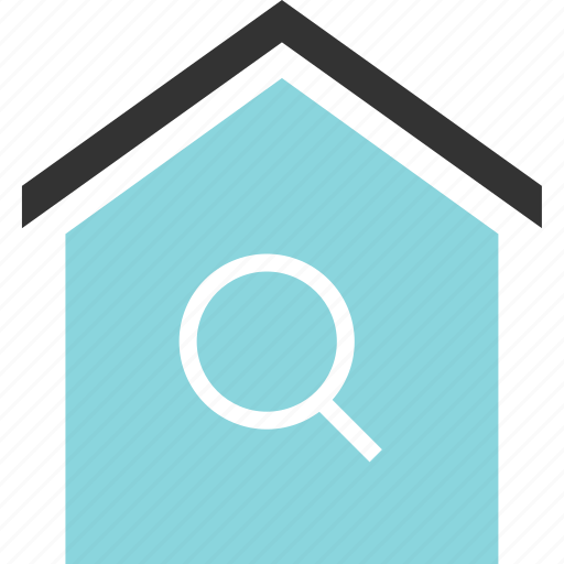 buying, estate, home, house, real, search icon
