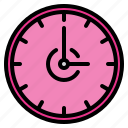 appliance, clock, design, furniture, home, room, wall icon