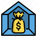 budget, decor, decorating, friendly, home, loan icon
