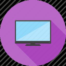 lcd, monitor, plasma, screen, television, tv, wall icon