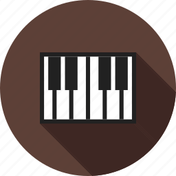 art, classic, jazz, keys, music, musical, piano icon