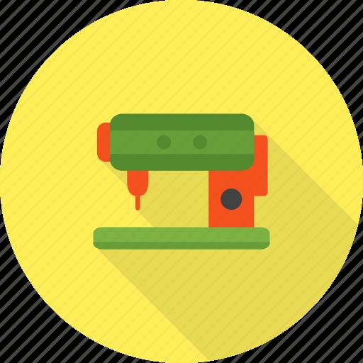 craft, equipment, machine, metal, needle, sewing, thread icon