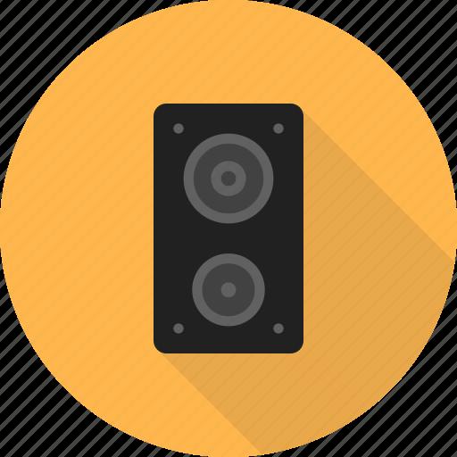 audio, music, sound, speaker, speakers, technology icon