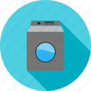 clean, laundry, machine, wash, washer, washing icon