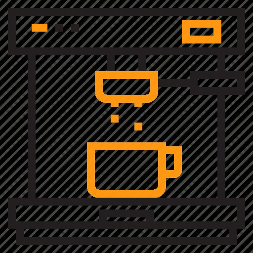 coffee, equipment, home, maker, tool icon