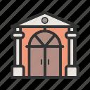 architecture, building, door, doorway, house, traditional