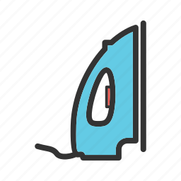 clothes, home, hot, house, ironing, press, steam icon