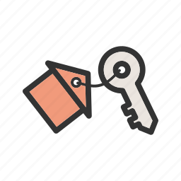 door, house, key, keys, lock, metal, unlock icon