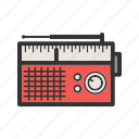antenna, music, radio, set, speaker, style, tuner