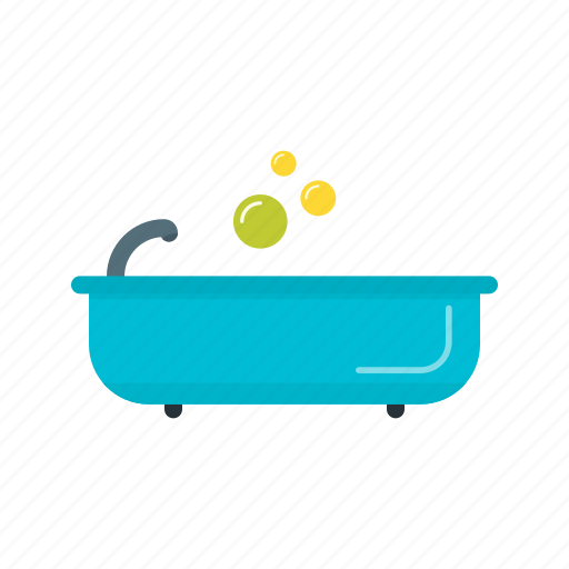 bath, bathroom, bathtub, house, interior, shower icon