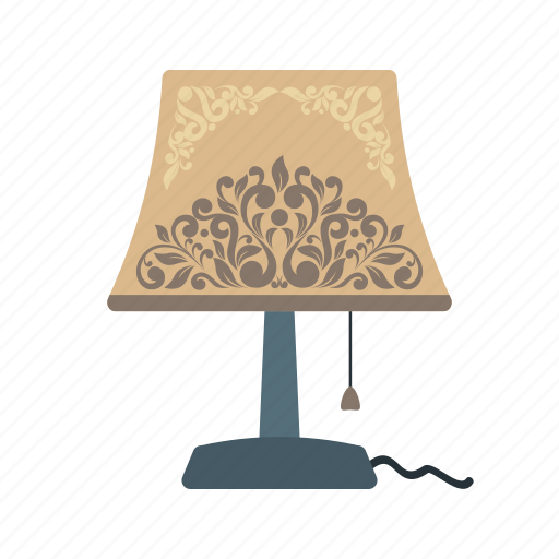 Desk, lamp, light, modern, night, shade, table icon - Download on Iconfinder