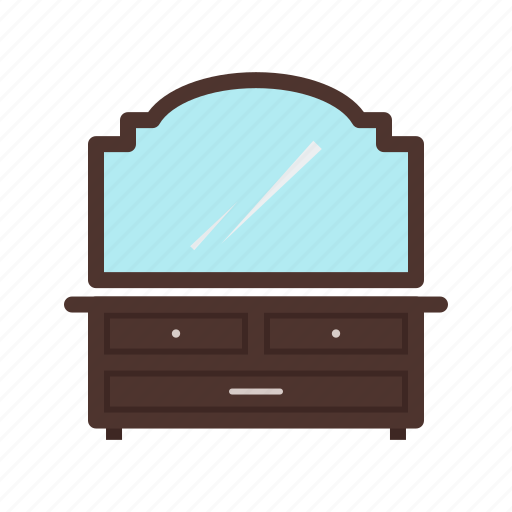 Apartment, cosmetics, dressing, home, modern, table icon - Download on Iconfinder