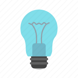 bulb, color, electric, electricity, energy, light, lightbulb icon