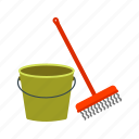 cleaning, equipment, floor, home, mop, mopping, tool icon