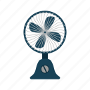 summer, wire, electric, plastic, fan, table, air