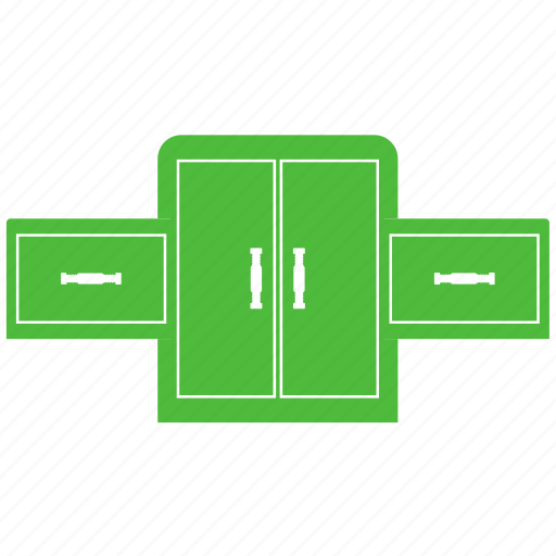 cabinet, cupboard, cupboard drawers, drawers, storage drawers icon