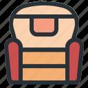 sofa, furniture, interior, household, chair