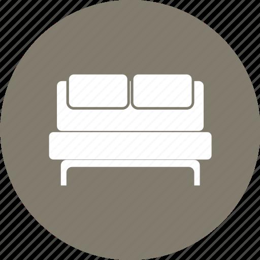 Bed, bedroom, bedroom furniture, furniture, sleeping icon - Download on Iconfinder