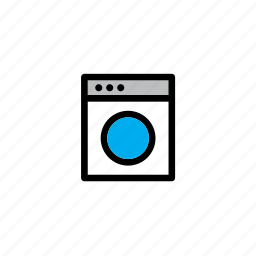 appliance, furniture, home, house, household, interior, washing machine icon